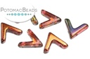 AVA Beads - Crystal Magic Wine (Factory Pack of 100)