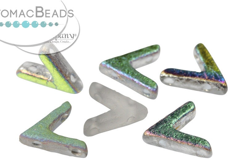AVA Beads - Crystal Vitrail Etched (Factory Pack of 100)