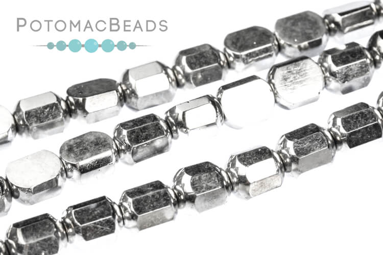 Cathedral Dome Beads - Crystal Labrador Full