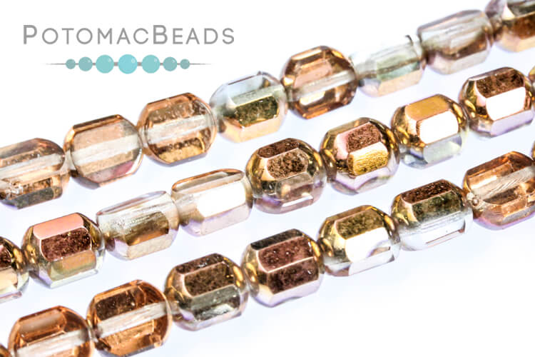 Cathedral Dome Beads - Crystal Sunset