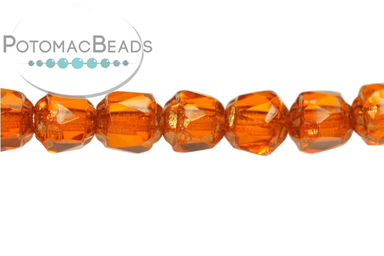 Czech Cathedral Beads - Hyacinth 4mm