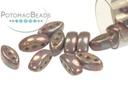 Cali Beads - White Luminous Punch 3x8mm