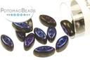 Cali Beads - Jet Azuro 3x8mm