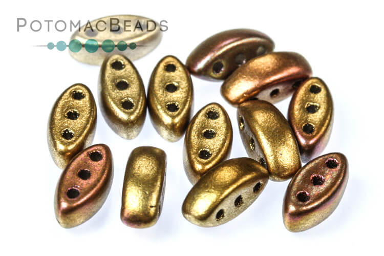 Cali Beads - Ancient Gold