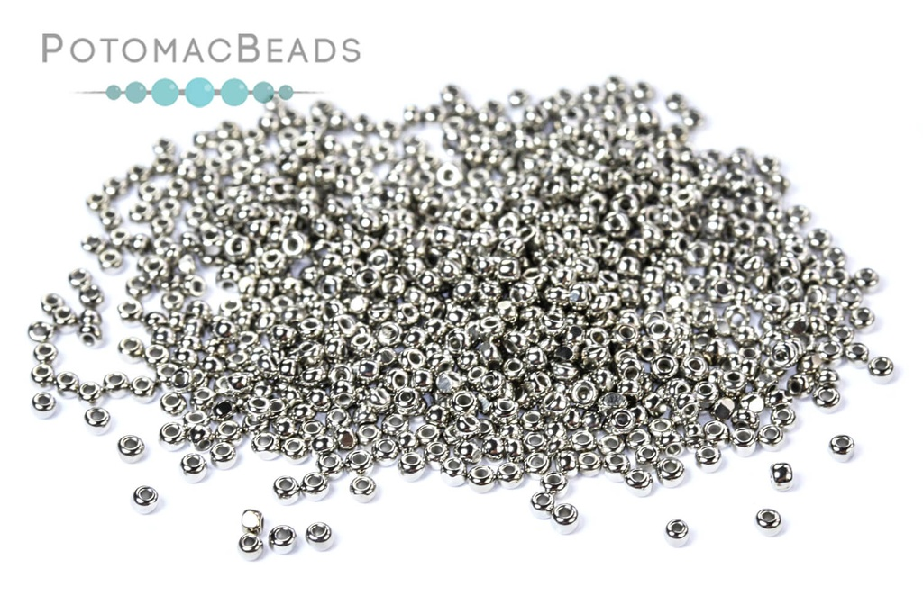 Charlottes - Nickel Plated 15/0