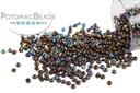 Charlottes - Dark Bronze AB Plated 15/0