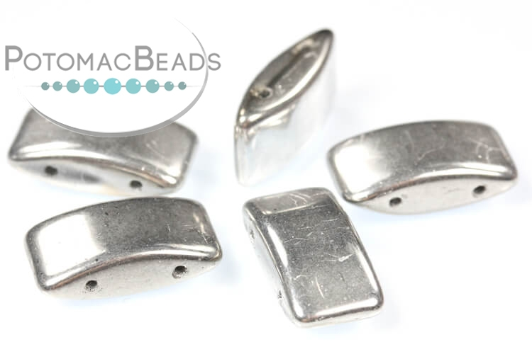 Carrier Beads 9x17mm - Silver (Lab Full)