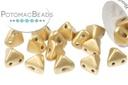 Super Kheops Beads - Aztec Gold (Light Gold Matte)