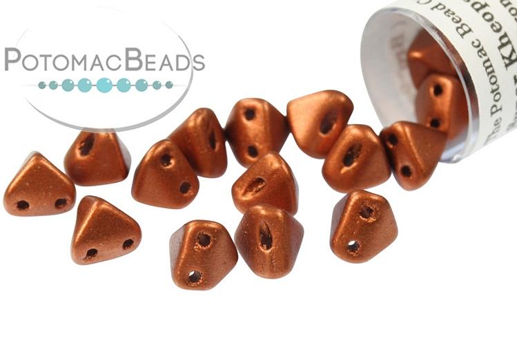 Super Kheops Beads - Copper ( Bronze Red Matte)