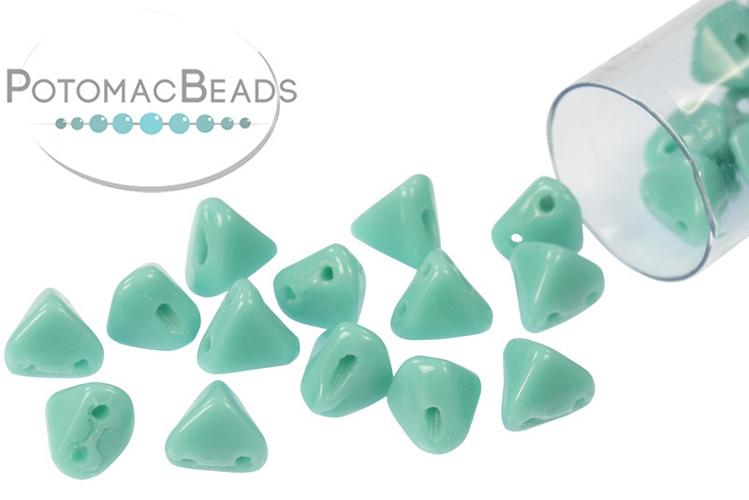 Super Kheops Beads - Jade ( Opaque Green Turquoise)