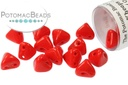 Super Kheops Beads - Opaque Red ( Opaque Coral Red)