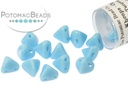 Super Kheops Beads - Opaque Blue Turquoise