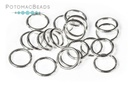 Closed Jump Rings 20G 6mm Sterling Silver