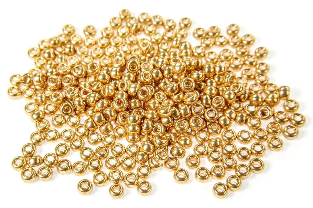 Miyuki Seed Beads - Galvanized Gold 11/0
