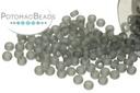 Miyuki Seed Beads - Matte Transparent Gray 11/0