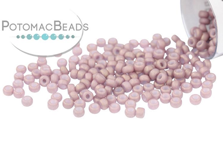 Miyuki Seed Beads - Matte Antique Rose Gold Luster 11/0
