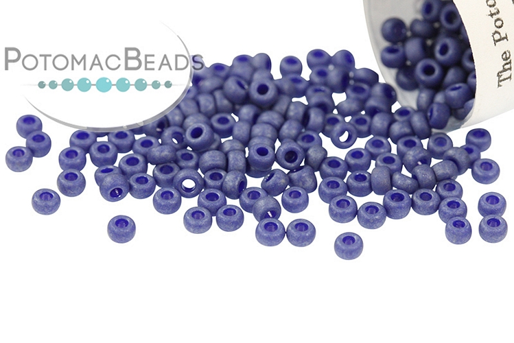 Miyuki Seed Beads - Matte Opaque Cobalt Luster 11/0