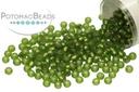 Miyuki Seed Beads - Matte Silver Lined Olive 11/0