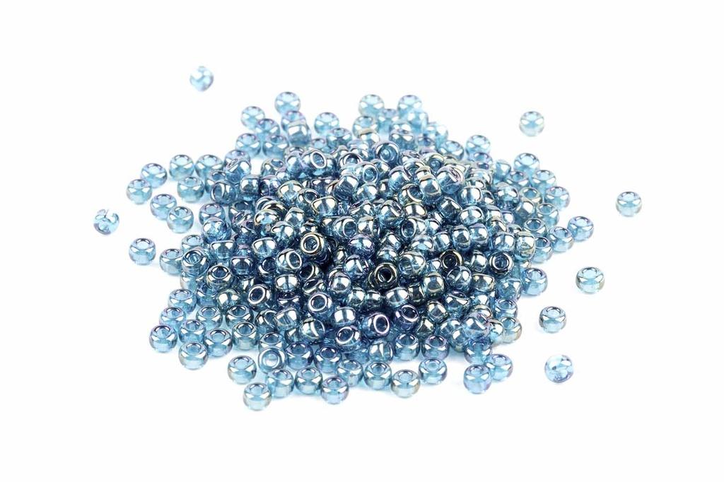 Miyuki Seed Beads - Montana Blue Gold Luster 11/0