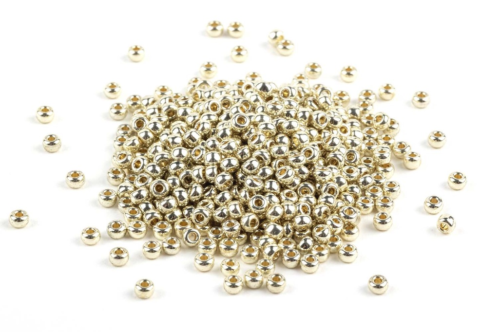 Miyuki Seed Beads - Duracoat Galvanized Silver 11/0