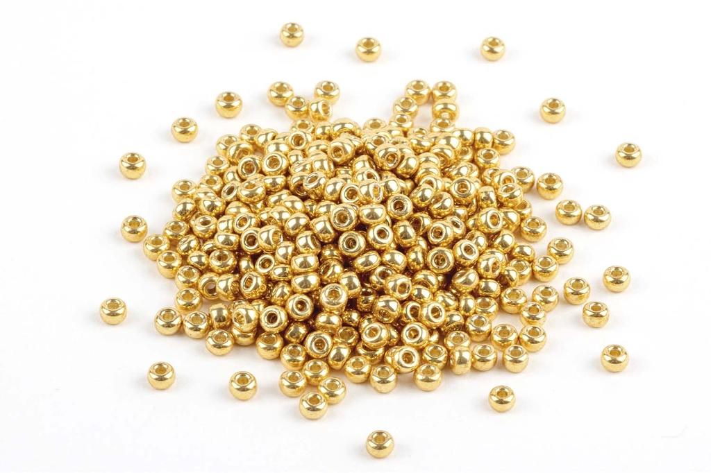 Miyuki Seed Beads - Duracoat Galvanized Gold 11/0