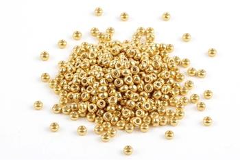 [70383] Miyuki Seed Beads - Duracoat Galvanized Gold 11/0