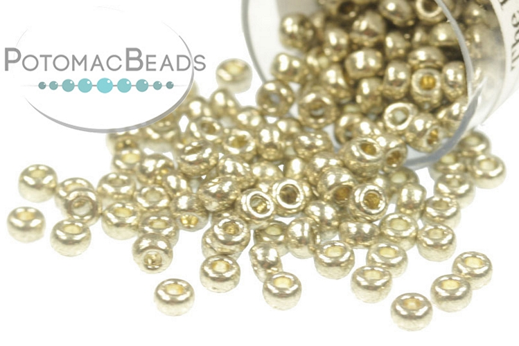 Miyuki Seed Beads - Duracoat Galvanized Light Pewter 11/0