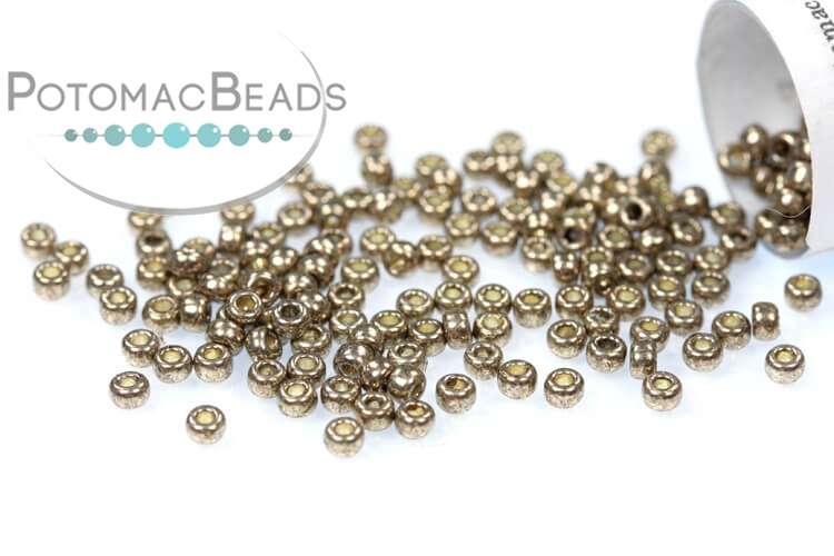 Miyuki Seed Beads - Duracoat Galvanized Pewter 11/0