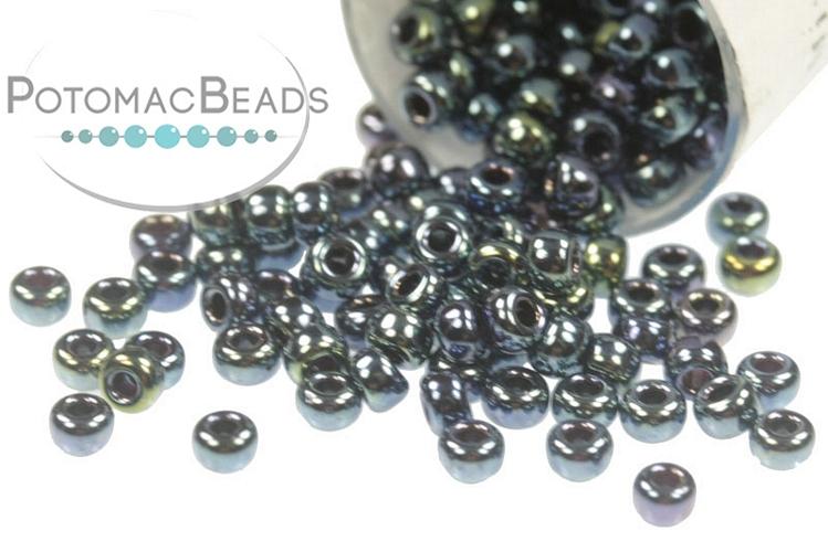 Miyuki Seed Beads - Gunmetal Iris 11/0