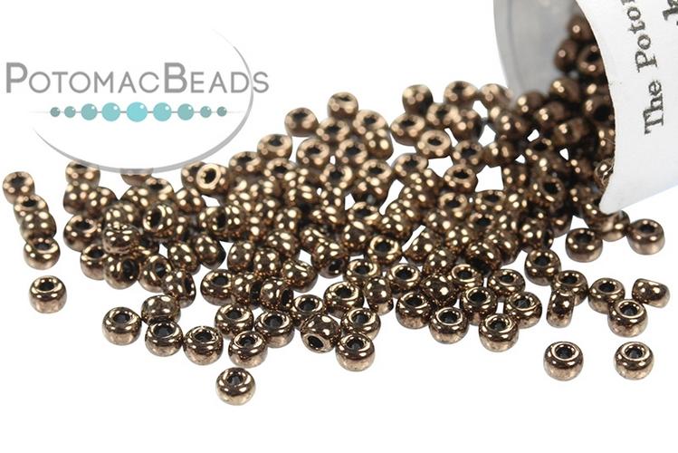 Miyuki Seed Beads - Metallic Chocolate 11/0