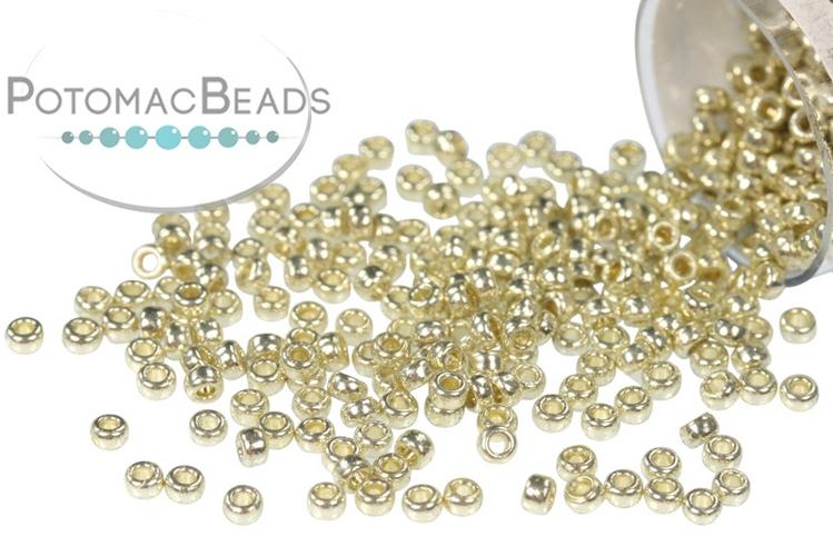 Miyuki Seed Beads - Duracoat Galvanized Silver 15/0