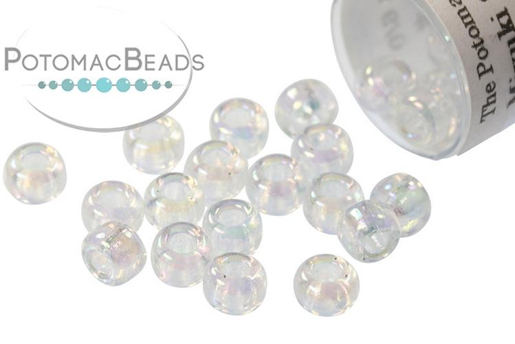 Miyuki Seed Beads - Crystal AB 6/0