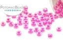 Miyuki Seed Beads - Fuchsia Lined Crystal 8/0