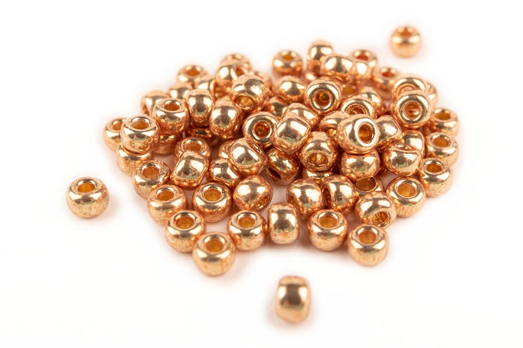 Miyuki Seed Beads - Duracoat Galvanized Champagne 8/0