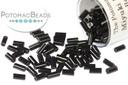 Miyuki Bugle - Black 3mm