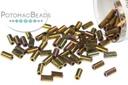 Miyuki Bugle - Metallic Gold Iris 3mm