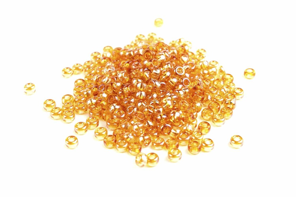 Miyuki Seed Beads - Crystal Apricot Medium 11/0