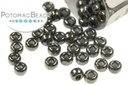 Miyuki Seed Beads - Black Hematite 8/0