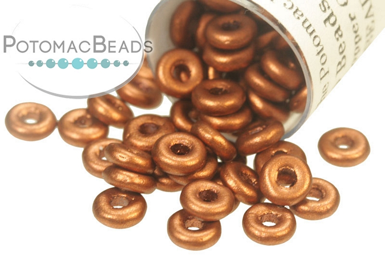 O Beads - Copper 2x4mm