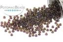 Miyuki Seed Beads - Cranberry Lined Peridot AB 15/0