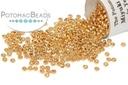 Miyuki Seed Beads - Galvanized Yellow Gold 15/0