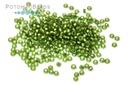 Miyuki Seed Beads - Matte Silver Lined Olive 15/0