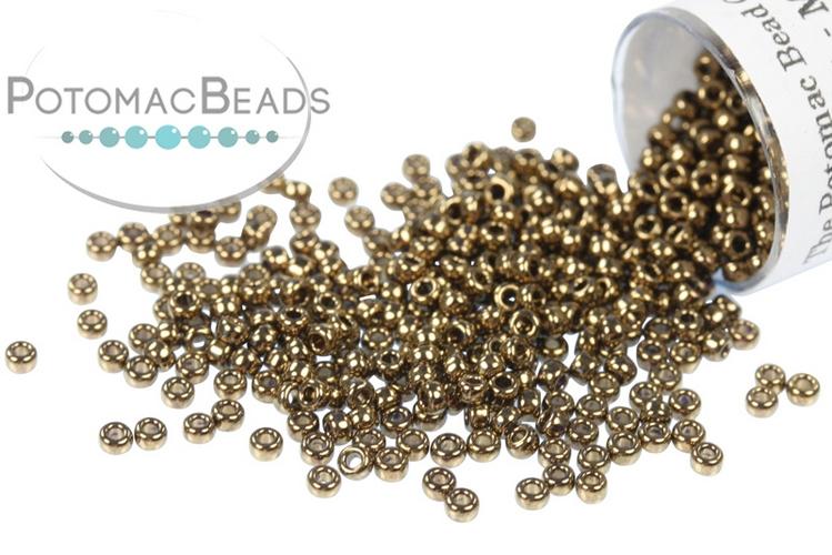 Miyuki Seed Beads - Metallic Dark Bronze 15/0