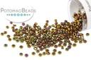 Miyuki Seed Beads - Metallic Gold Iris 15/0