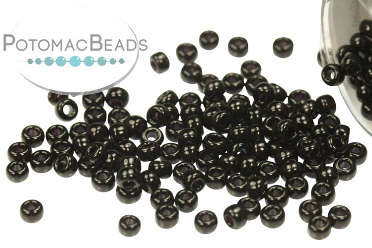 Miyuki Seed Beads - Black 11/0