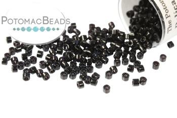 [77764] DB0010 Miyuki Delica Beads Black 11/0