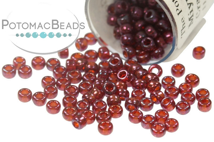 Miyuki Seed Beads - Cranberry Gold Luster 11/0