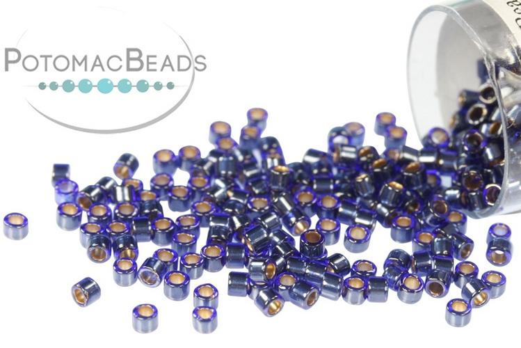 DB0278 Miyuki Delica Beads Lined Cobalt Luster 11/0