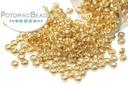 Miyuki Seed Beads - Galvanized Gold 15/0