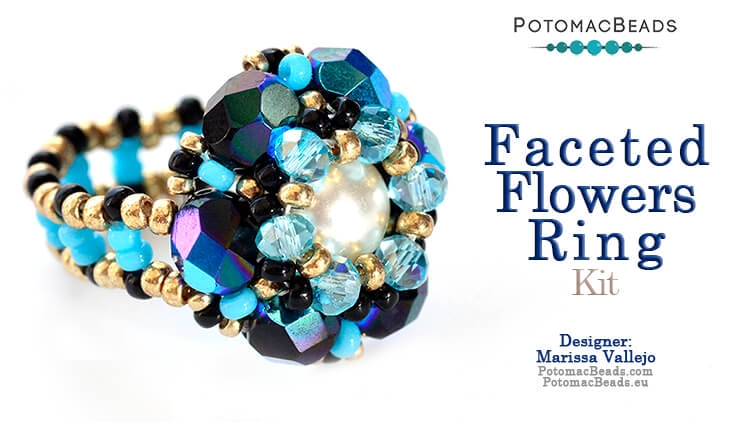 Kit - Faceted Flowers Ring